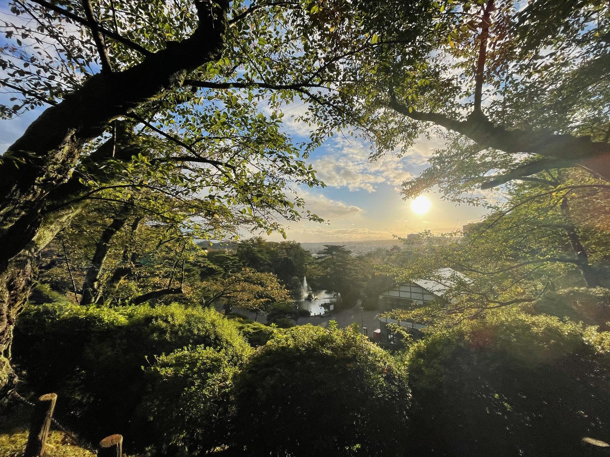 秋田到着 街が綺麗な理由